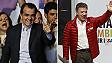 Óscar Iván Zuluaga e Juan Manuel Santos (AP/Reuters)