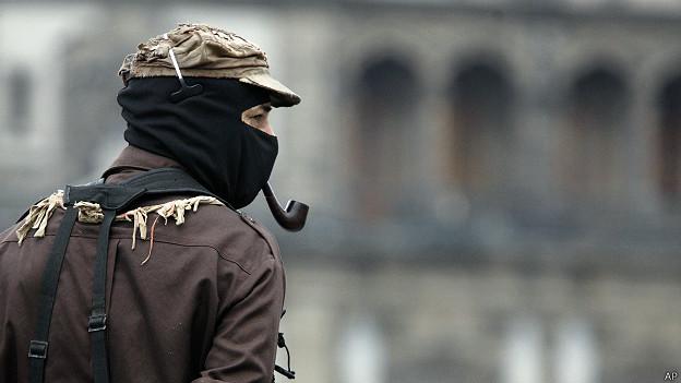 Subcomandante Marcos, del EZLN