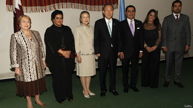 Bachelet como directora ejecutiva de ONU Mujer