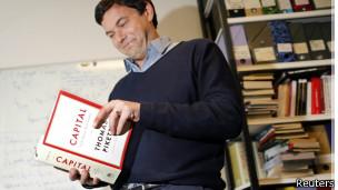 Piketty con su libro