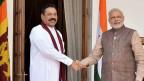 Sri Lankan president in Delhi