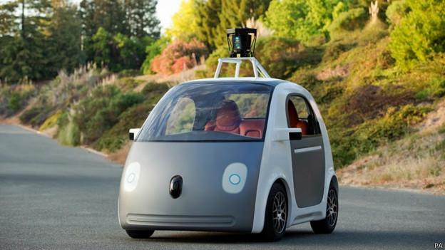 Прототип машины Google