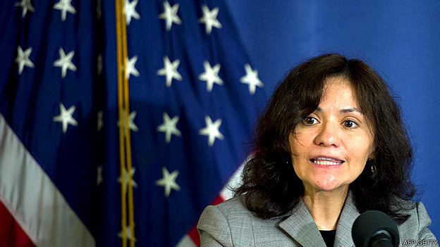 Edith Ramirez, presidenta de la Comisión Federal de Comercio de Estados Unidos