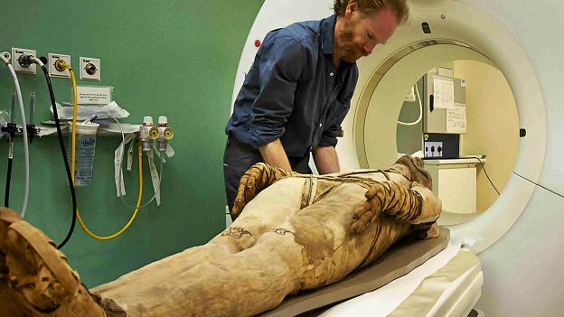 Сканирование мумии