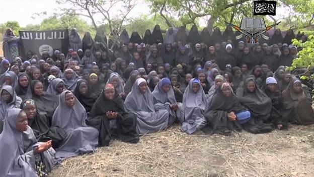 博科圣地说,女生都已皈依伊斯兰教
