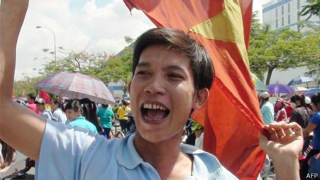 Protestas en Vietnam en contra de intereses chinos