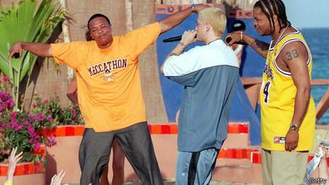 Dr Dre con Eminem