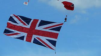 Bandeira britânica/Foto: Bob Brown