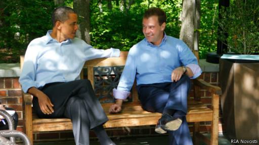 Обама и Медведев