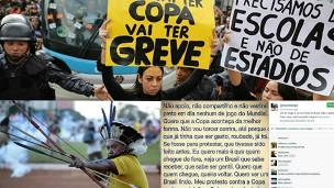 Capas de revistas destacam negativamente o Brasil (Reprodução)