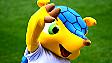 Muñeco de Fuleco, la mascota del Mundial