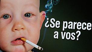 Campaña antitabaco del Grupo Perfil