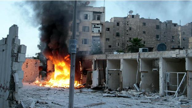 Aleppo (Reuters)