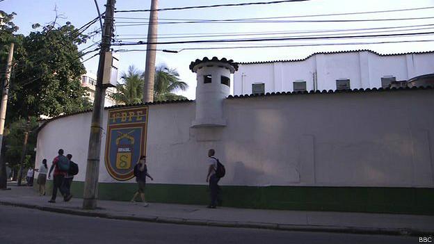 Cuartel de la Policía Militar en Río de Janeiro