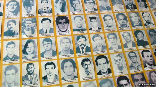 Brasileños desaparecidos
