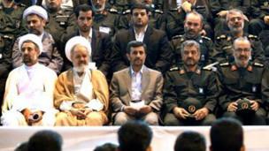 سپاه - احمدی نژاد