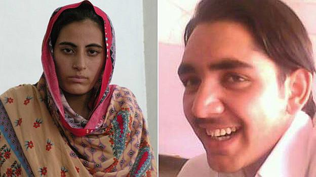 Rukhsana Bibi y su esposo Mohammad Yunus