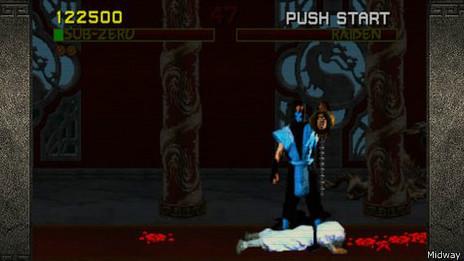 Escenas de Mortal Kombat