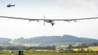 Avião movido a energia solar (AFP)