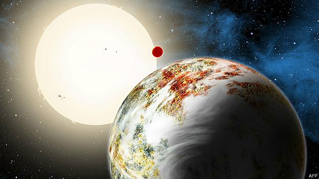 Novo planeta (AFP)