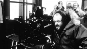 Stanley Kubrick, en una foto de 1988