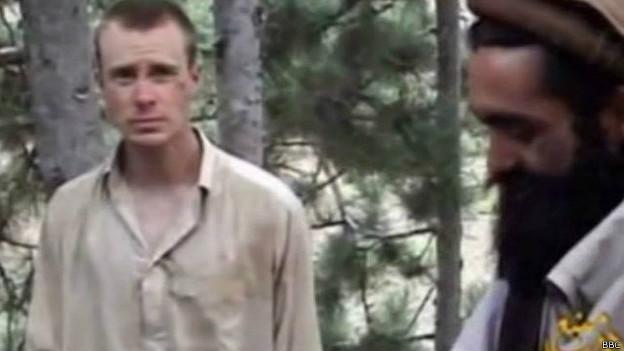 Bowe Bergdahl y un talibán