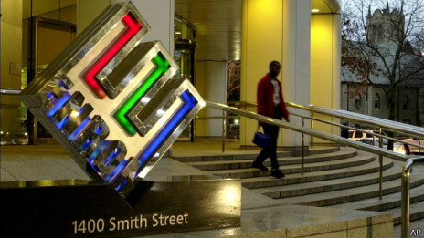 Entrada de Enron