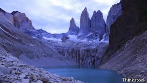 Paisaje de Torres del Paine