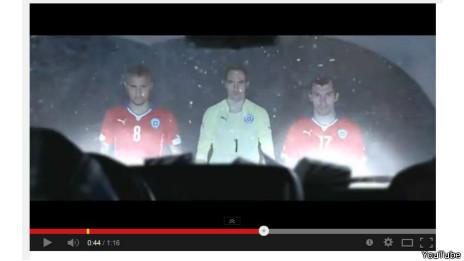 Comercial de Cristal para Chile. (YouTube)