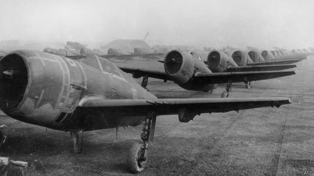 Aviones de combate aliados