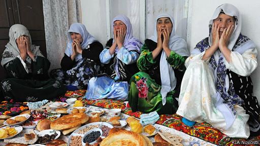 Татджикские женщины