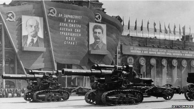 Военный парад в Москве в 1947 году
