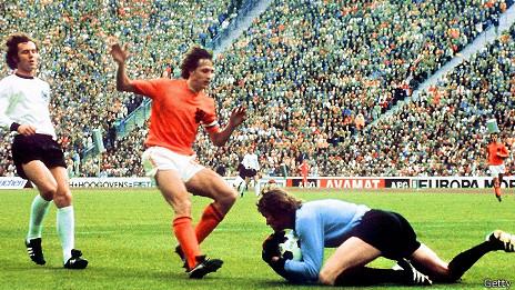 Johan Cruyff en 1974