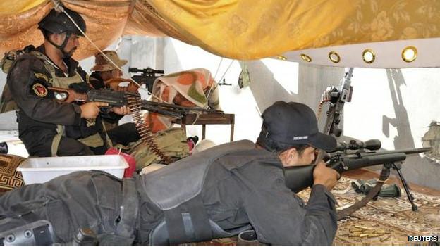 इराक़ सेना के जवान