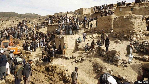 Оползни в Бадахшане