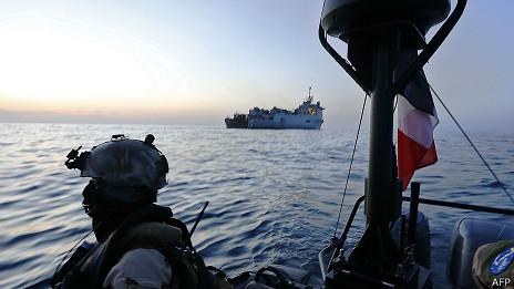 Vigilancia por piratas en Somalia