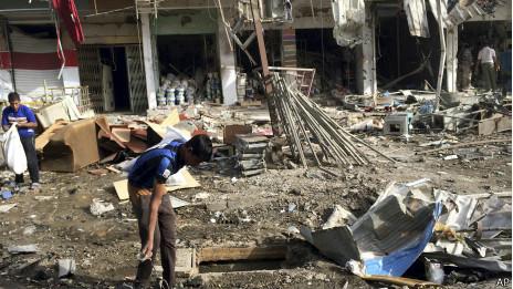 Atentado en Bagdad, junio 8, 2014