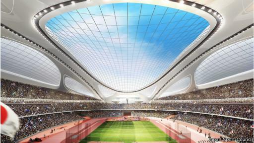 Rancangan Stadion Nasional Tokyo