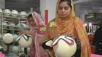 உலகக் கோப்பை கால்பந்துகளை தயாரிக்கும் பாகிஸ்தான்