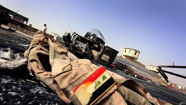 इराक़ में हुआ एक विस्फोट