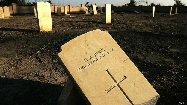 Cementerio militar británico de la Primera Guerra Mundial