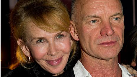 Trudy Styler y Sting