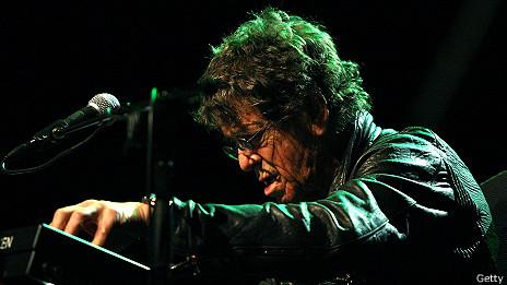 Lou Reed, en concierto