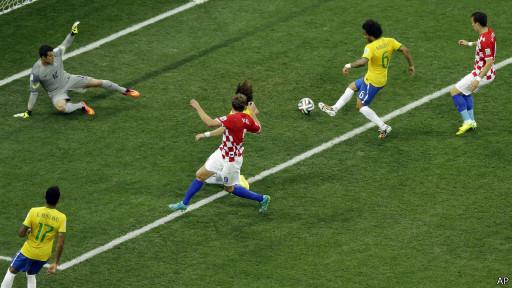 Brasil lawan Kroasia