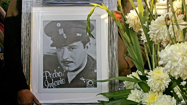 Pedro Infante, el cantante más popular de México. Foto: AFP/Getty