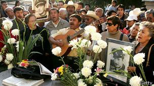 Aniversario luctuoso de Pedro Infante en México. Foto: AFP/Getty
