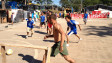 Torneio de futebol na Copa do Povo | Foto: Camilla Costa/BBC Brasil