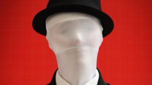 Representación de Slender Man.