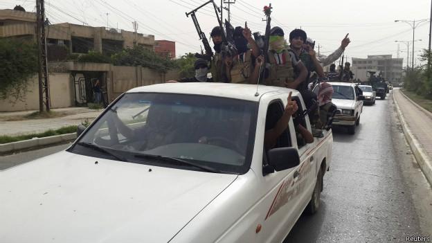 इराक़ में चरमपंथियों का कब्ज़ा
