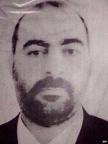 Abu Bakr al-Baghddi (AFP)